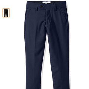 NWT Isaac Mizrahi Boys' Wool Blend Slim Pant